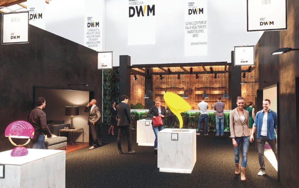 Foto de Detalle de la exposición de DWM