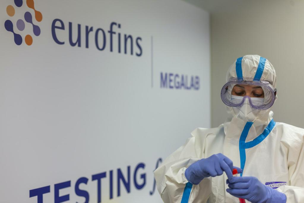 Foto de Eurofins Megalab abre un laboratorio para realizar pruebas de